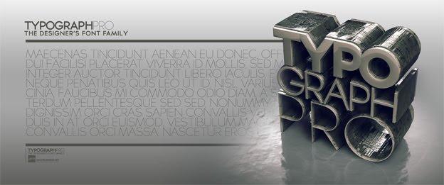 Typograph pro шрифт