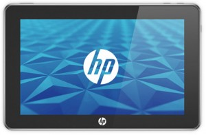hp tablet web os