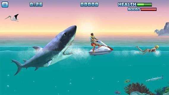 Игра акула ест людей скачать бесплатно